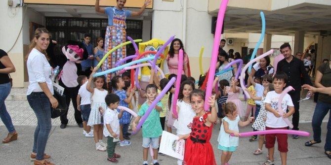 Minik öğrenciler eğlenceli aktiviteler ile okula başladı