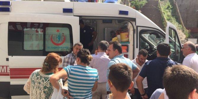 Giresun'da 'Kaza Caddesi' okulların ilk gününü de boş geçmedi