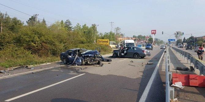 Bartın'nda trafik kazası 1 ölü