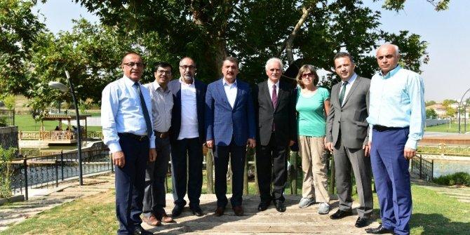 Battalgazi Belediyesine destek sözü