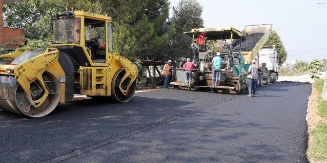 Başiskele'de asfaltsız yol kalmıyor