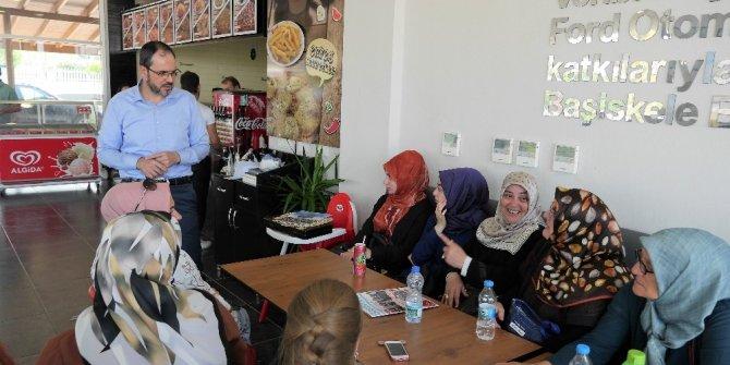 """Başkan Ayaz """"Güçlü Kadınlar, Güçlü Başiskele"""" projesini anlattı"""