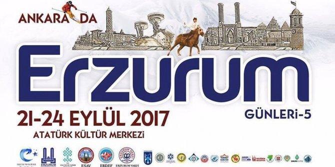Ankara'da Erzurum tanıtım günleri etkinliği