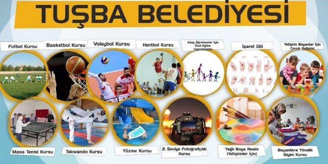 Tuşba Belediyesinin ücretsiz kurs kayıtları devam ediyor