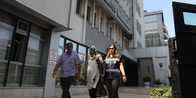 9 aylık hamile hırsız yakalandı