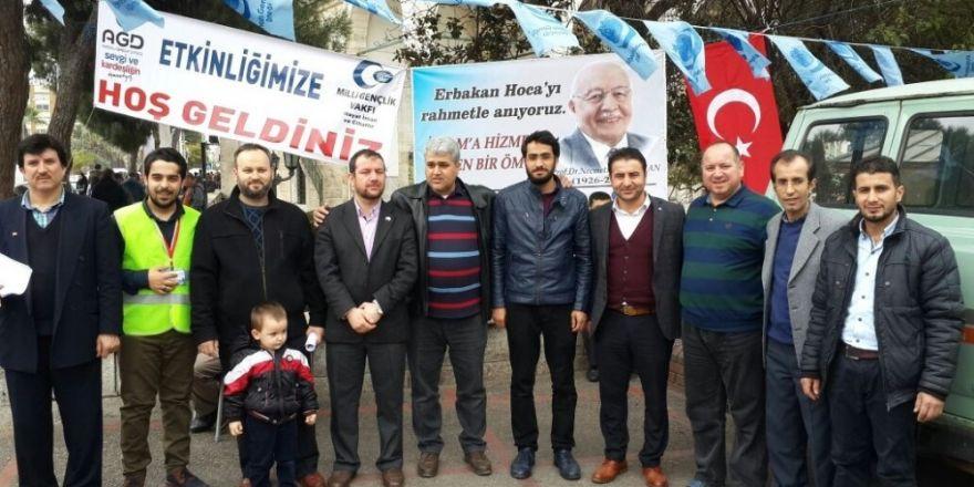 Aydın AGD, Erbakan'ı 6. ölüm yıldönümünde unutmadı
