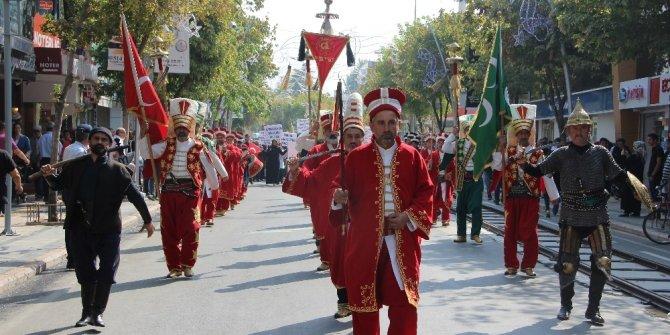 Düzce'de Ahilik Haftası'nda mehterli kutlama