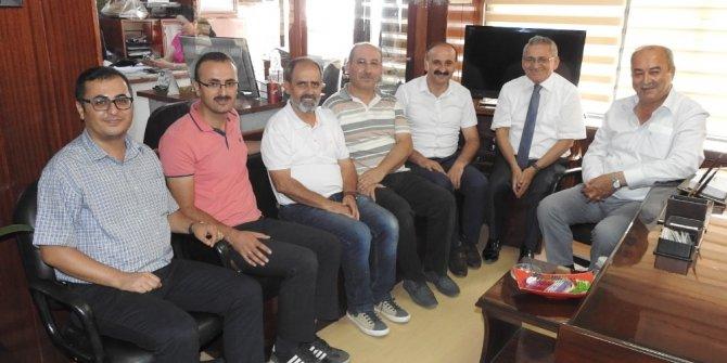 Gazeteciler cemiyetinden Çorum Haber Gazetesi'ne kutlama ziyareti