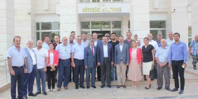 AK Parti Genel Başkan Yardımcısı Mahir Ünal, Köyceğiz Belediyesini ziyaret etti