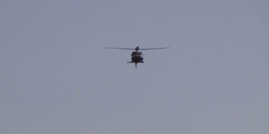 Yaralı asker helikopterle Gaziantep'e sevk edildi