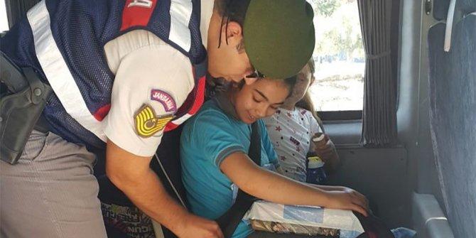 Milas'ta öğrencilerin güvenliği jandarmaya emanet