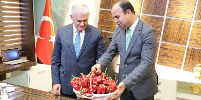 Belediye Başkanından Başbakan Yıldırım'a acı hediye