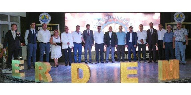 Erdemli'de 'Yılın işadamları' seçildi