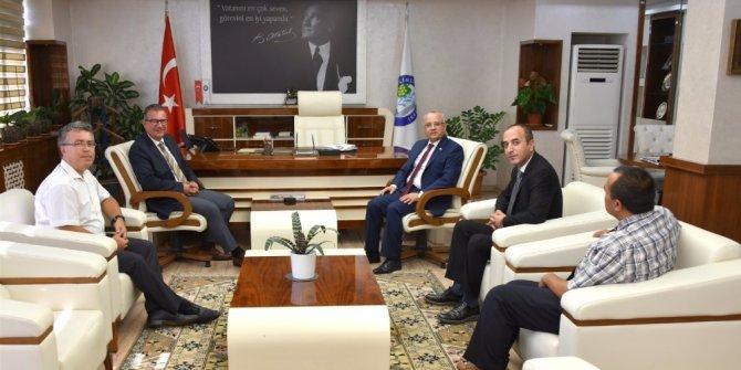 Başkan Kayda'ya fakülte teşekkür ziyareti