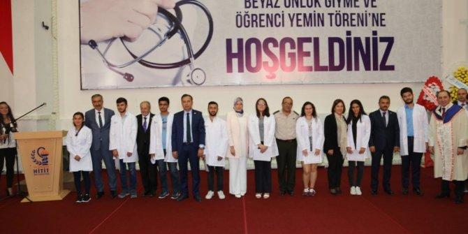 Hitit Üniversitesi Tıp Fakültesi 62 öğrencisiyle eğitime başladı