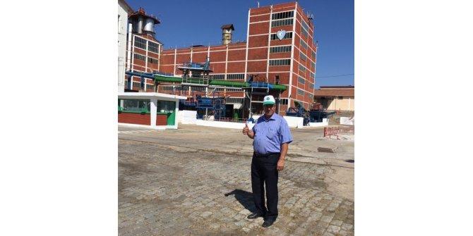 Alpullu şeker fabrikasının üretime açılması