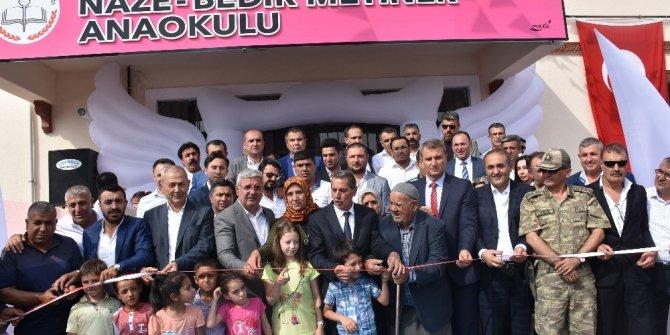 Naze Bedir Metiner Anaokulu törenle açıldı