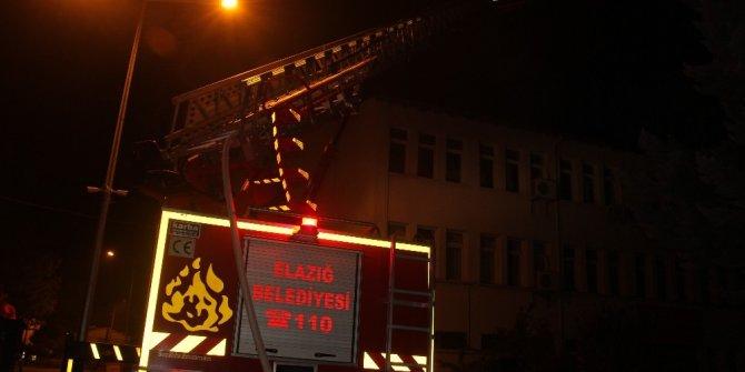 Gıda Tarım ve Hayvancılık Müdürlüğünde çatı yangını