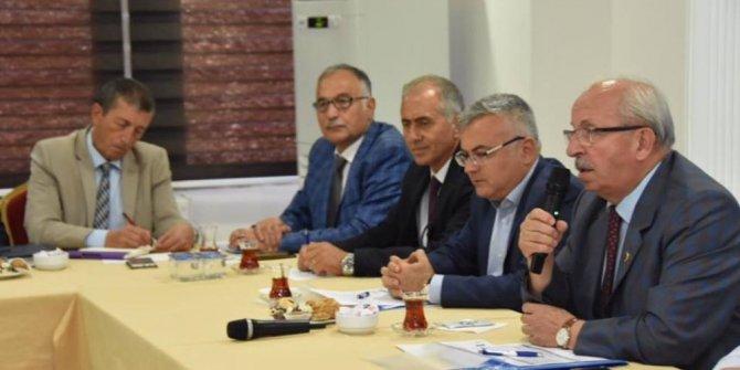 Çorlu'daki yatırımlar değerlendirildi