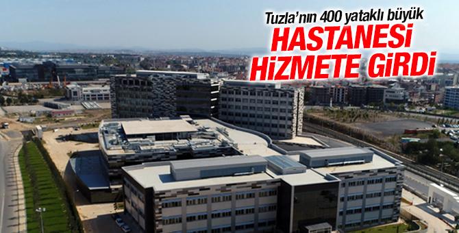 Tuzla'nın 400 yataklı büyük hastanesi açıldı!