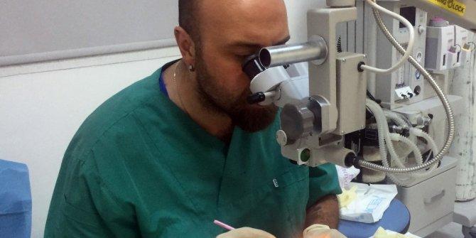 Katarakt ameliyatlarında hata payını düşürecek çalışma