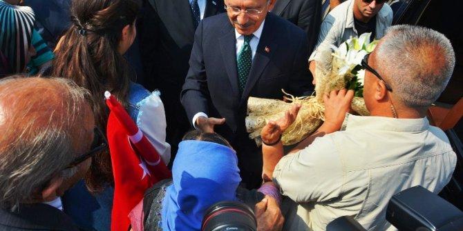 Kılıçdaroğlu Sungurlu'da karşılandı