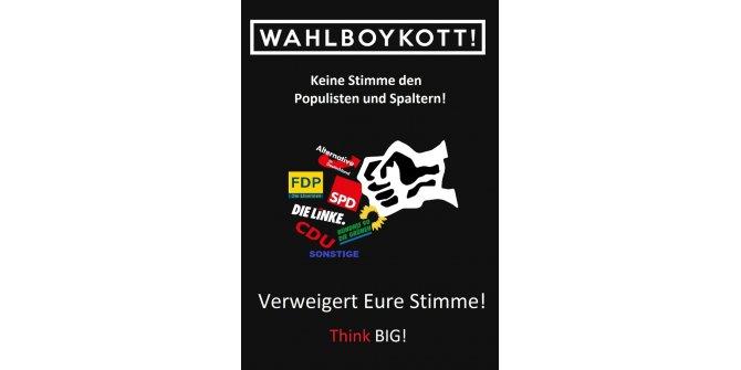 BIG'den seçimleri boykot yarışması