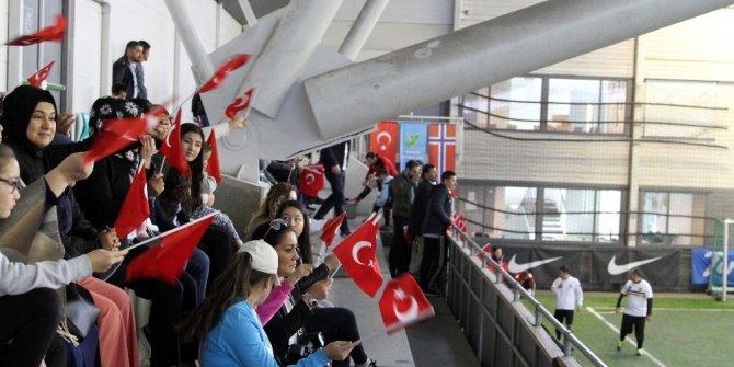 Nogay Türkleri Uluslararası Futbol Şampiyonası'nın 3.sü Norveç'in başkenti Oslo'da düzenlendi