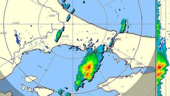 Beklenen yağış İstanbul'a giriş yaptı!