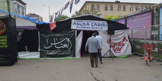 Iğdır'da Aşura çadırı kuruldu