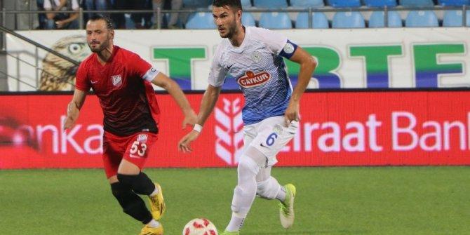 Ziraat Türkiye Kupası: Çaykur Rizespor: 3 - Nevşehirspor Gençlik: 0