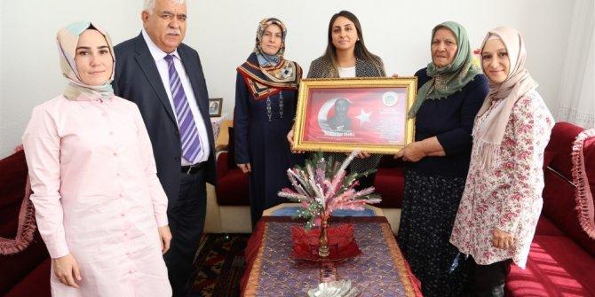 Aksaray'da şehit ailesi ve gaziye anlamlı ziyaret