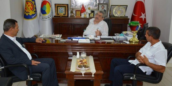 Başkan Uysal ve Bozkuş'tan TSO'ya ziyaret