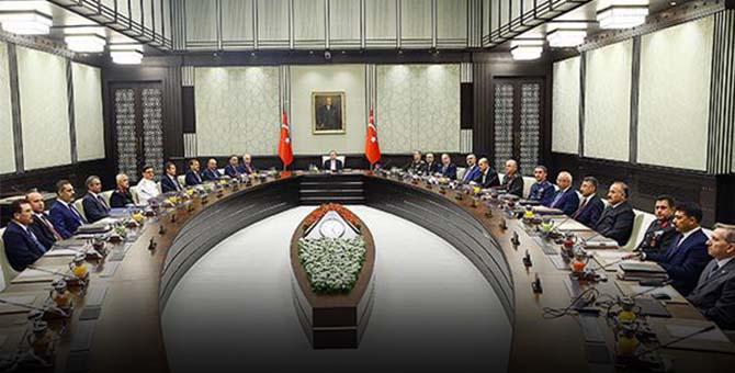 Kritik Bakanlar Kurulu Toplantısı: Hangi Kararlar alındı neler konuşuldu?