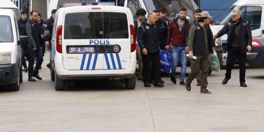 Antalya'da PKK/KCK operasyonu