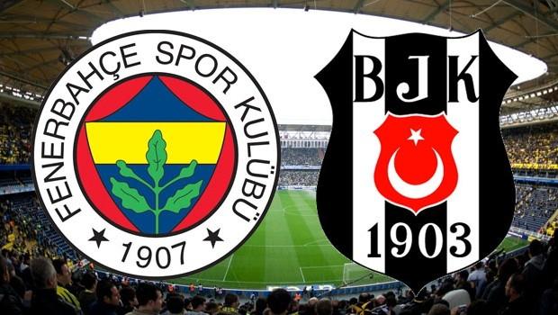 Fenerbahçe Beşiktaş maçı İlk yarı sonucu: FB:1 - BJK:0