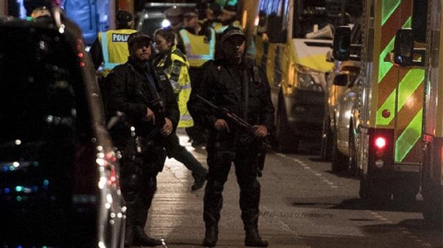 Londra'da zehirli sprey saldırısı
