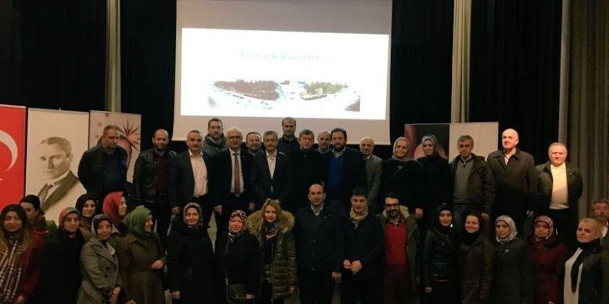 AK Parti Trabzon Siyaset Akademisi devam ediyor