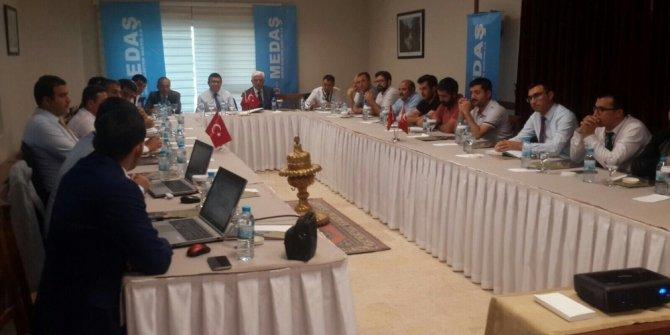 MEDAŞ Kırşehir'de sektör temsilcileri ile buluştu
