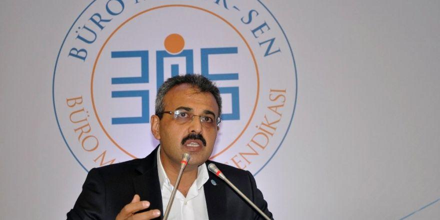 """Yanbaz: """"Maliye Bakanlığı ve GİB çalışanları maalesef emeklerinin karşılığını alamamaktadır"""""""