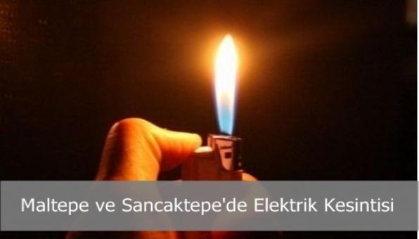 Maltepe ve Sancaktepe´de Elektrik Kesintisi