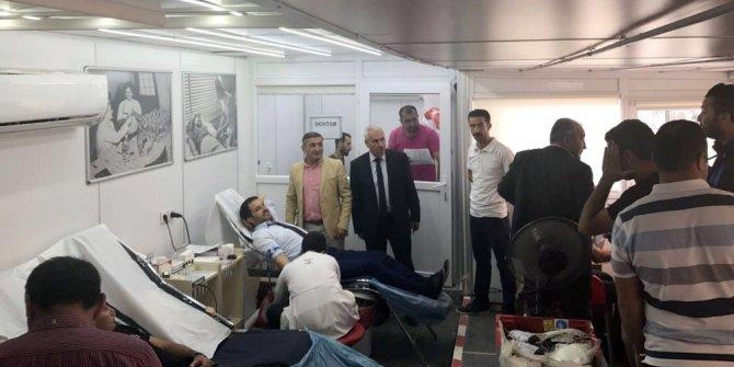 AK Parti İl Başkanı Gür'den kan bağışı