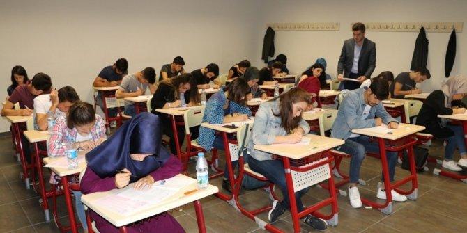 Akademi Lise'de sınav heyecanı
