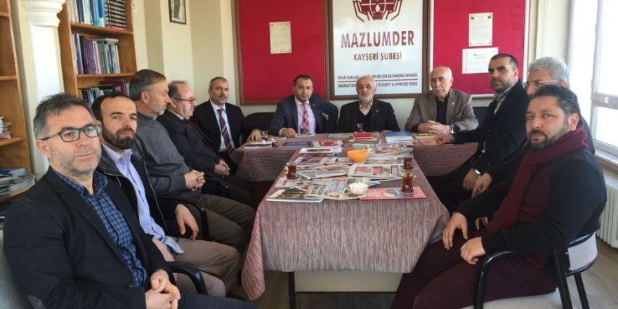 Aile ve Sosyal Politikalar İl Müdürü Özer, Gönüllü Kültür Kuruluşlarını ziyaret etti