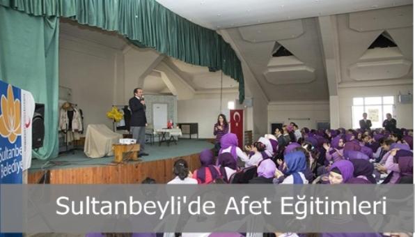 Sultanbeyli  Belediyesi Afetler Konusunda Çocukları Bilinçlendiriyor