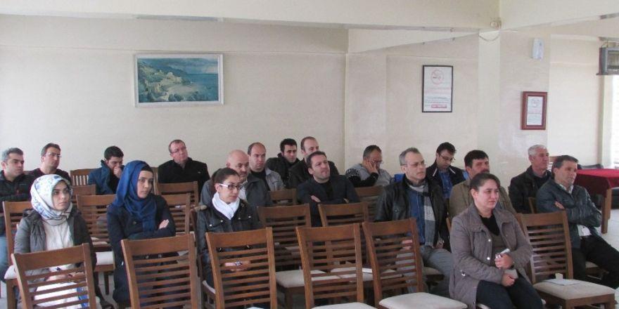 Etibor çalışanlarına resmi yazışma kuralları öğretildi
