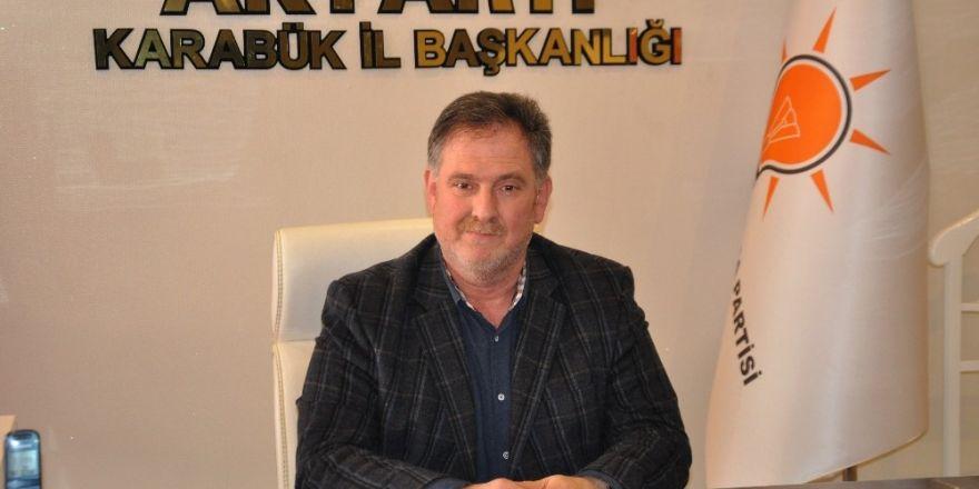 """AK Parti İl Başkanı Saylar: """" İstikrar ve  İstikbal için evet diyoruz"""""""