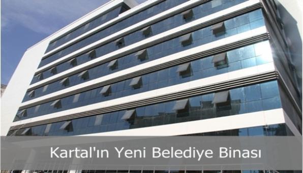 Kartal´ın Yeni Belediye Binası