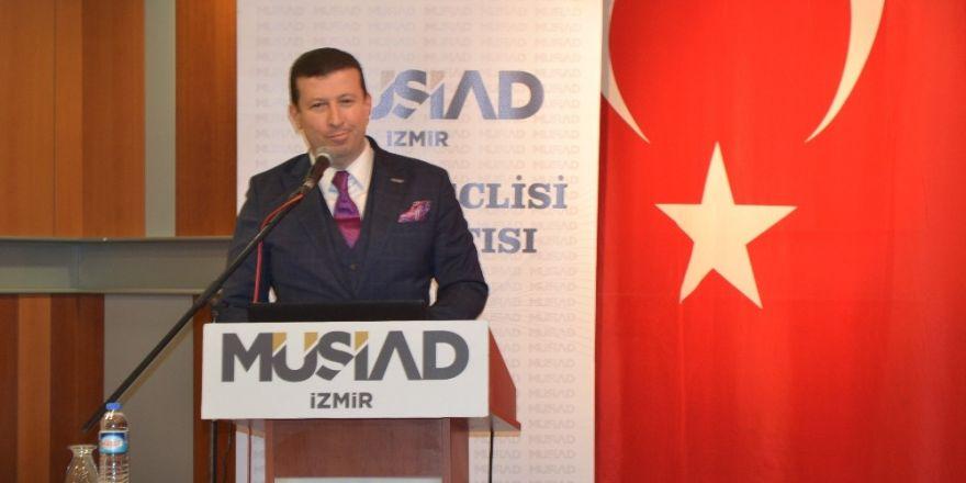 MÜSİAD İzmir Dost Meclisinin konuğu Cemal Öztürk oldu