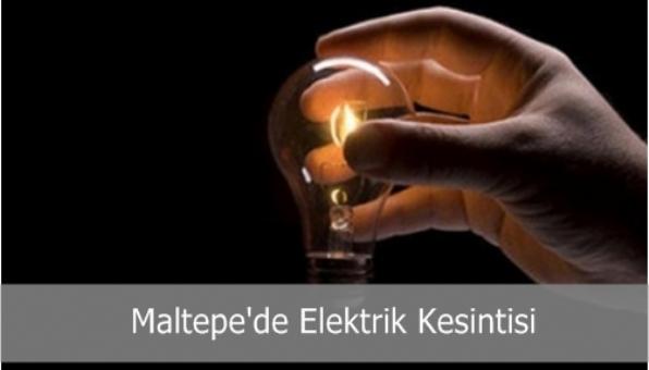 Maltepe´de Elektrik Kesintisi